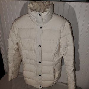 Womens Land' End down puffy coat small